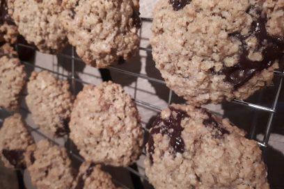Chocolate Chunk Chewy Cookies
